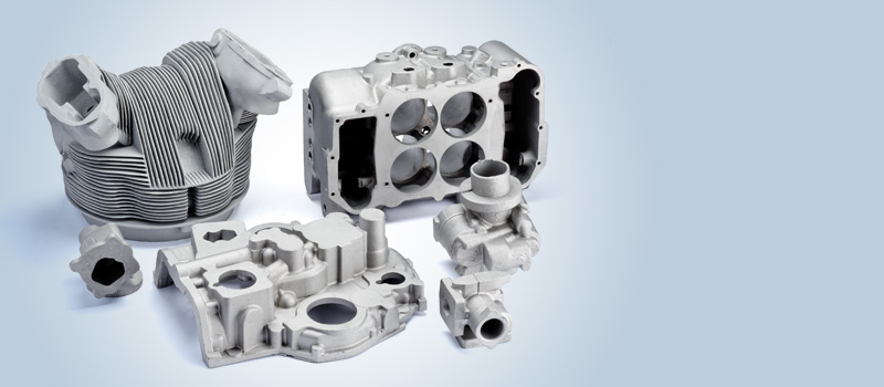 Castings for aircraft industry