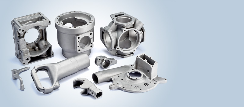 Castings for machine industry